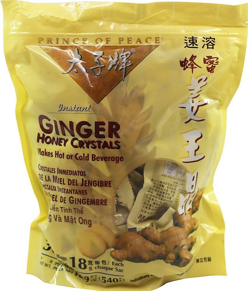 Prince of Peace Best Ginger Tea with Honey Crystals