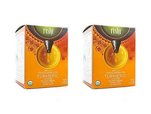 Rishi Tea Turmeric Ginger Tea