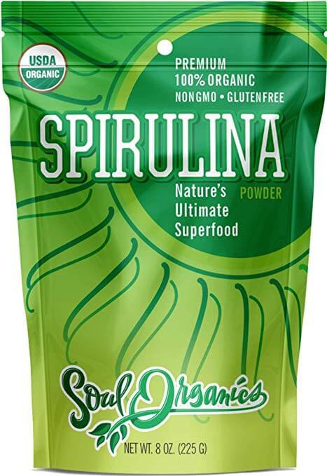 Soul Organics Spirulina Powder