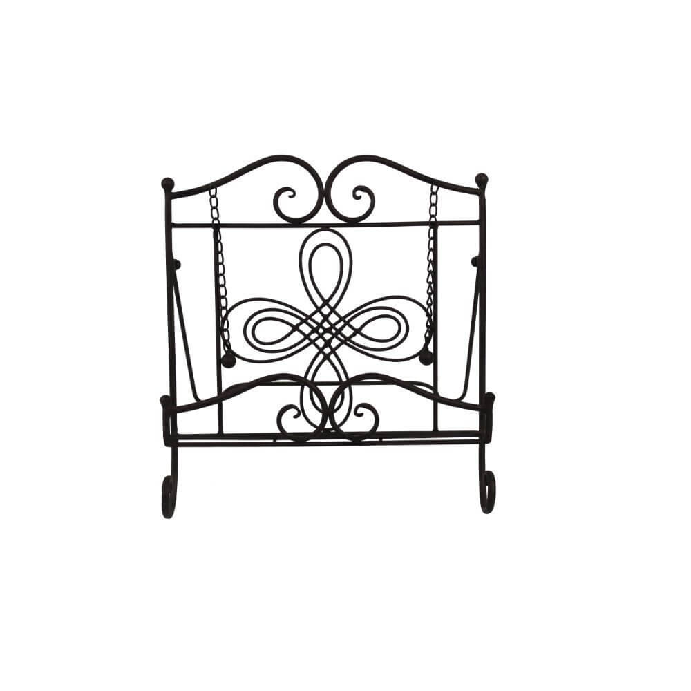 TRIPAR Swirl Design Cookbook Stand