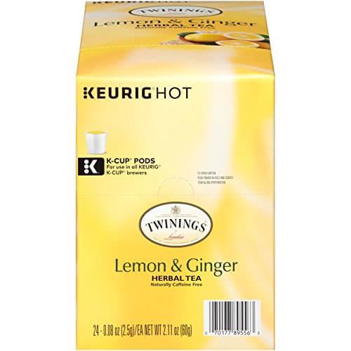 Twinings of London Lemon & Ginger Herbal Tea