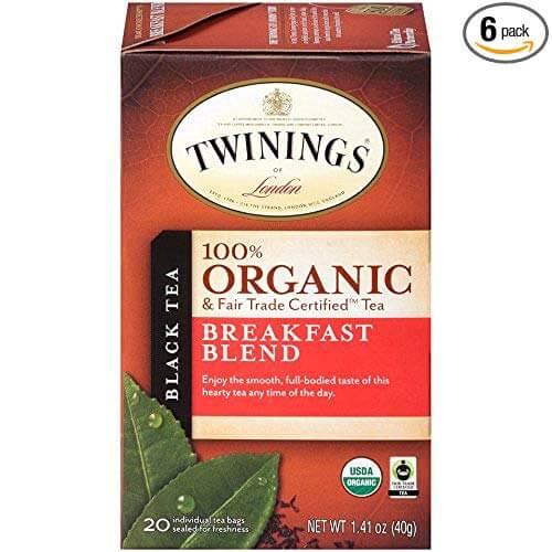 Twinings of London Organic Breakfast Blend Tea