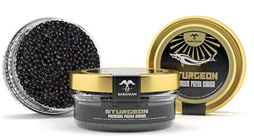 Caviar & Caviar Premium STURGEON Osetra Caviar