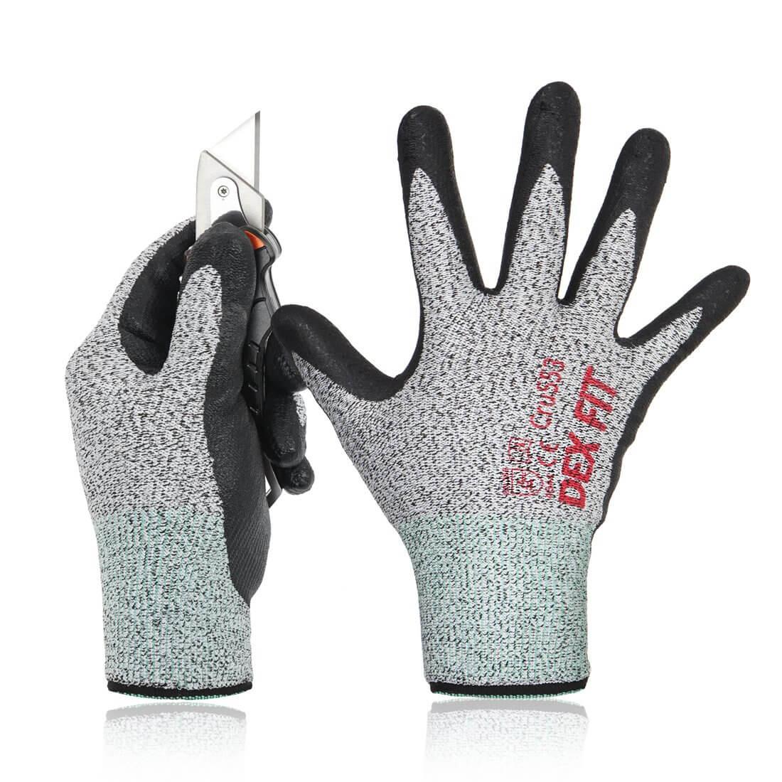 DEX FIT Level 5 Cut Resistant Gloves Cru553