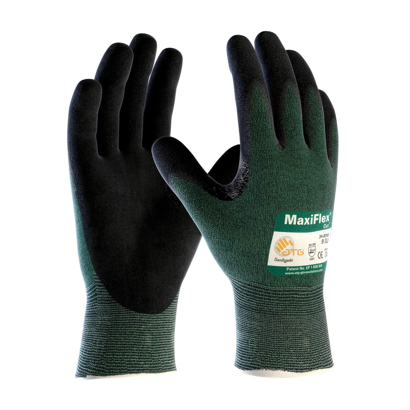 MaxiFlex Cut Resistant Nitrile Coated Gloves