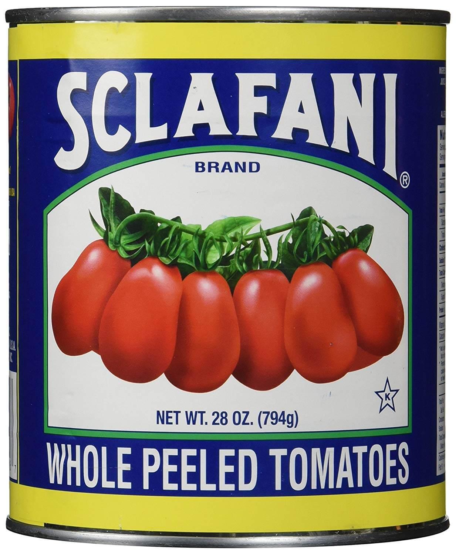 Sclafani Whole Peeled Tomatoes