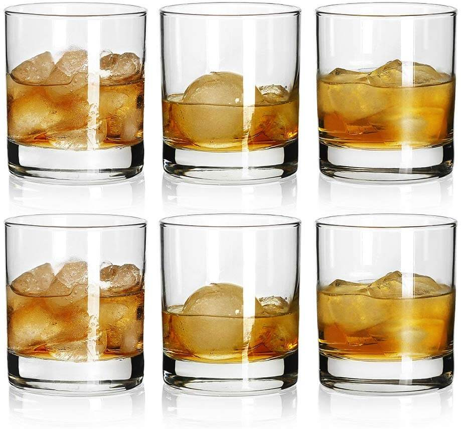 Bavel Rock Style Old Fashioned Whiskey Glasses