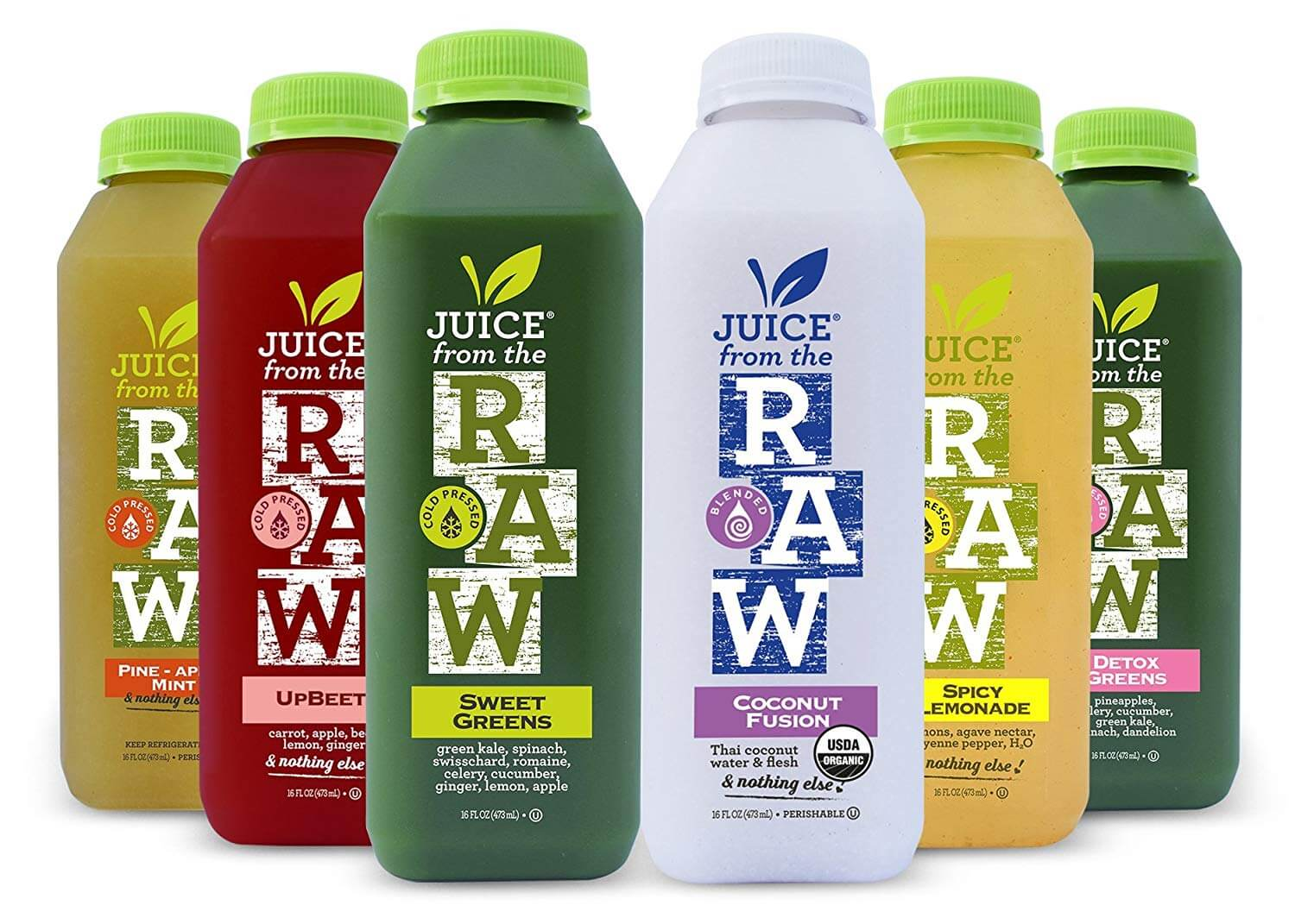 Juice From the RAW 3 Day ORGANIC Juice Cleanse