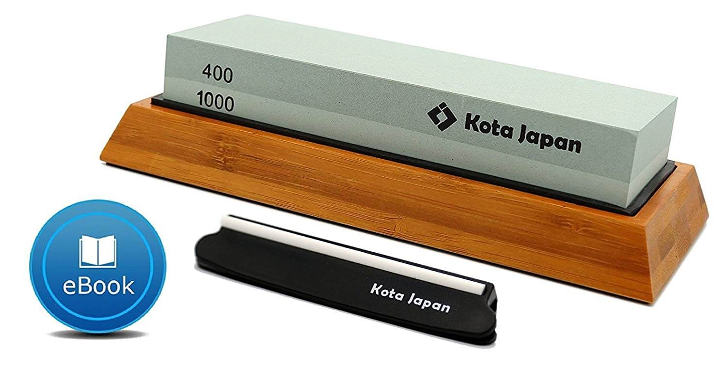 Kota Japan Dual Sided Water Stone Kit