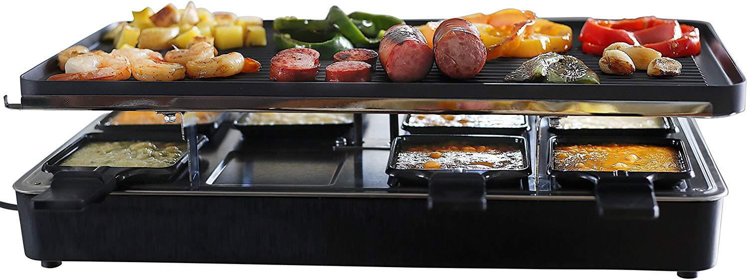 Milliard Eight Person Raclette Grill