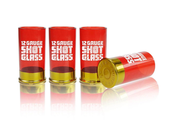 Mustard Plastic Shot Glass Shooter