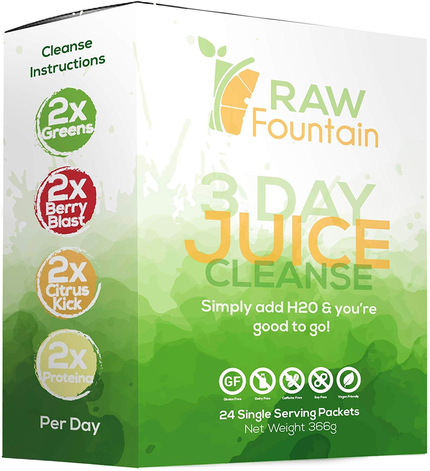 RAW Fountain 3 Day Juice Cleanse