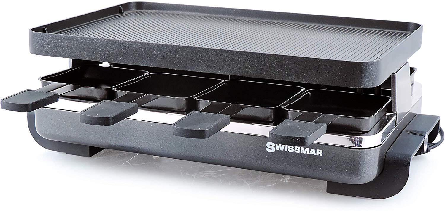 Swissmar KF-77041 Classic Eight Person Raclette Grill