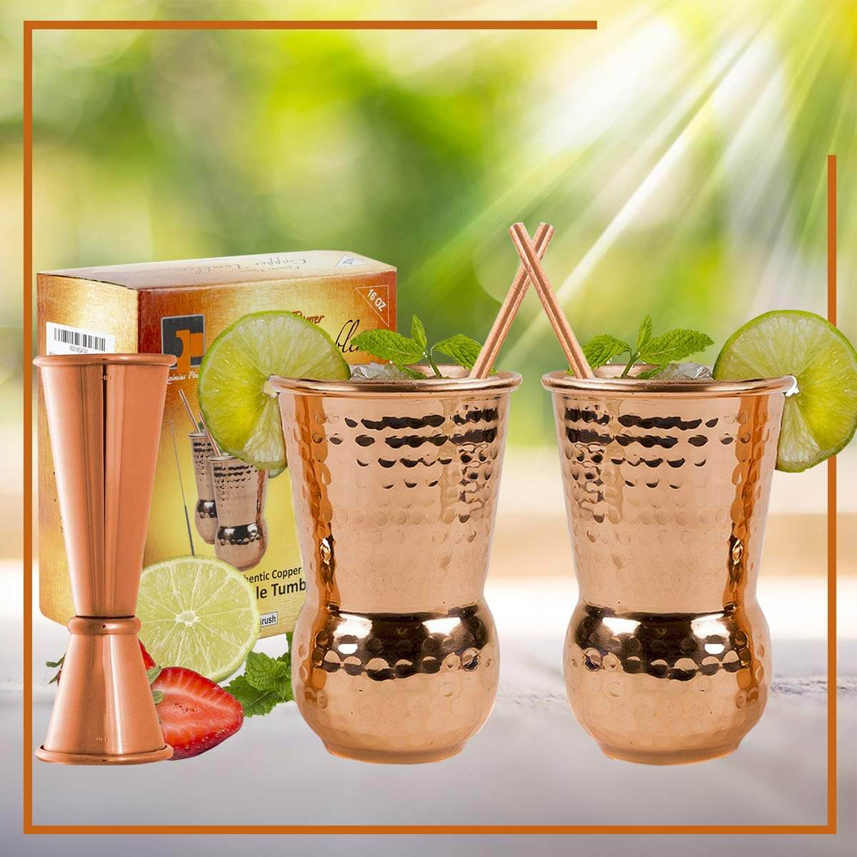 Eximius Power Moscow Mule Copper Mugs