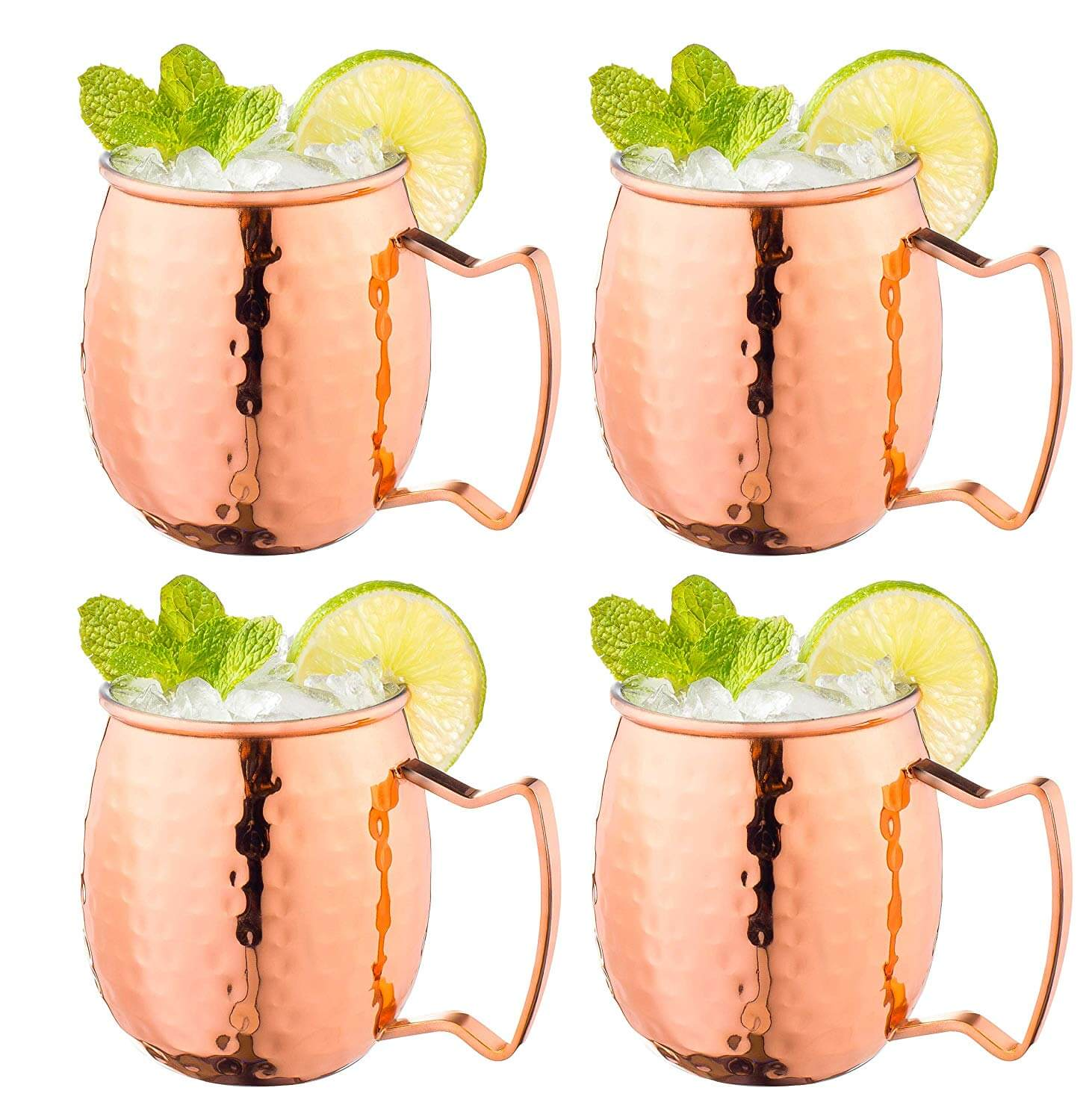 Fisher Home Products Moscow Mule Copper Mugs