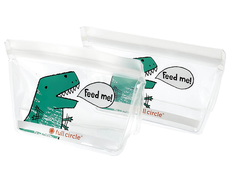 Full Circle ZipTuck Reusable Snack Bag Set