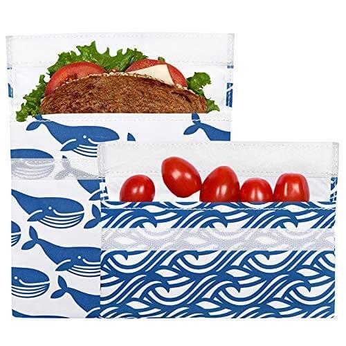 LunchSkins Reusable Snack Bag Set