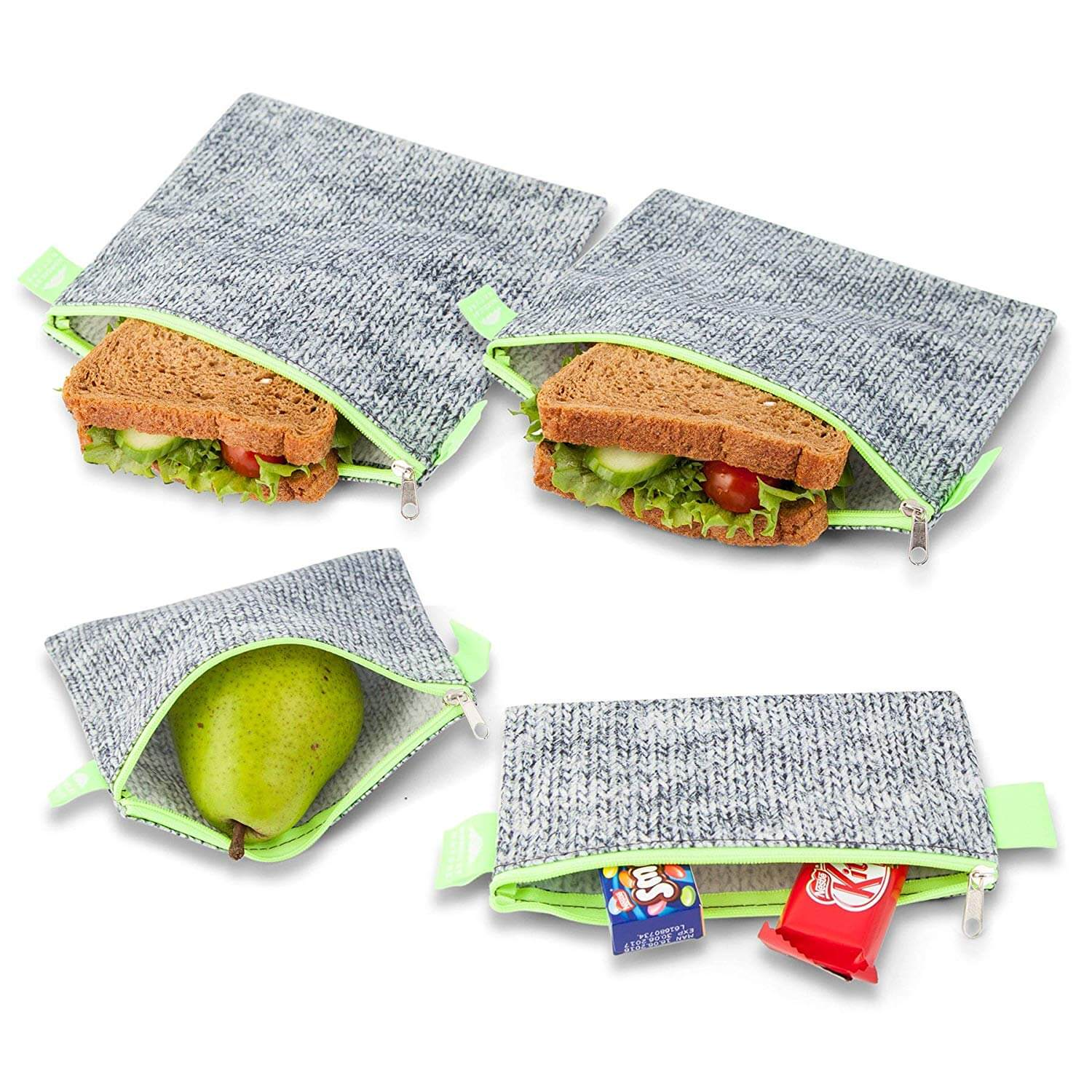 Nordic By Nature Reusable Snack Bag Set