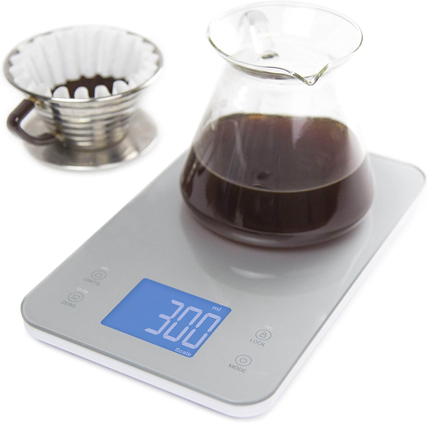 Nourish Digital Kitchen Food and Coffee Scale