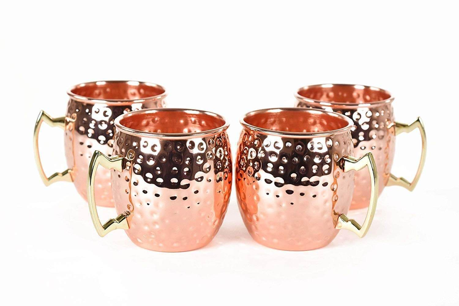 OLIA DESIGN RV Hammered Copper Moscow Mule Mug
