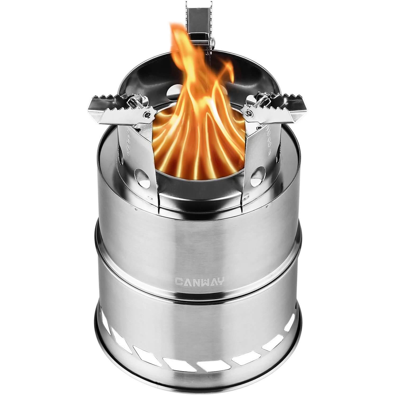 CANWAY Portable Wood Burning Stove