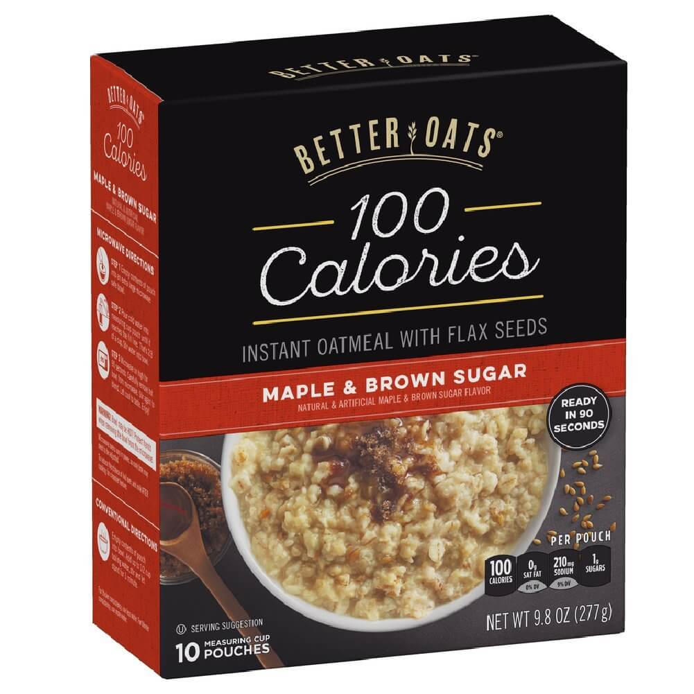 Better Oats 100 Calories Instant Oatmeal by Post