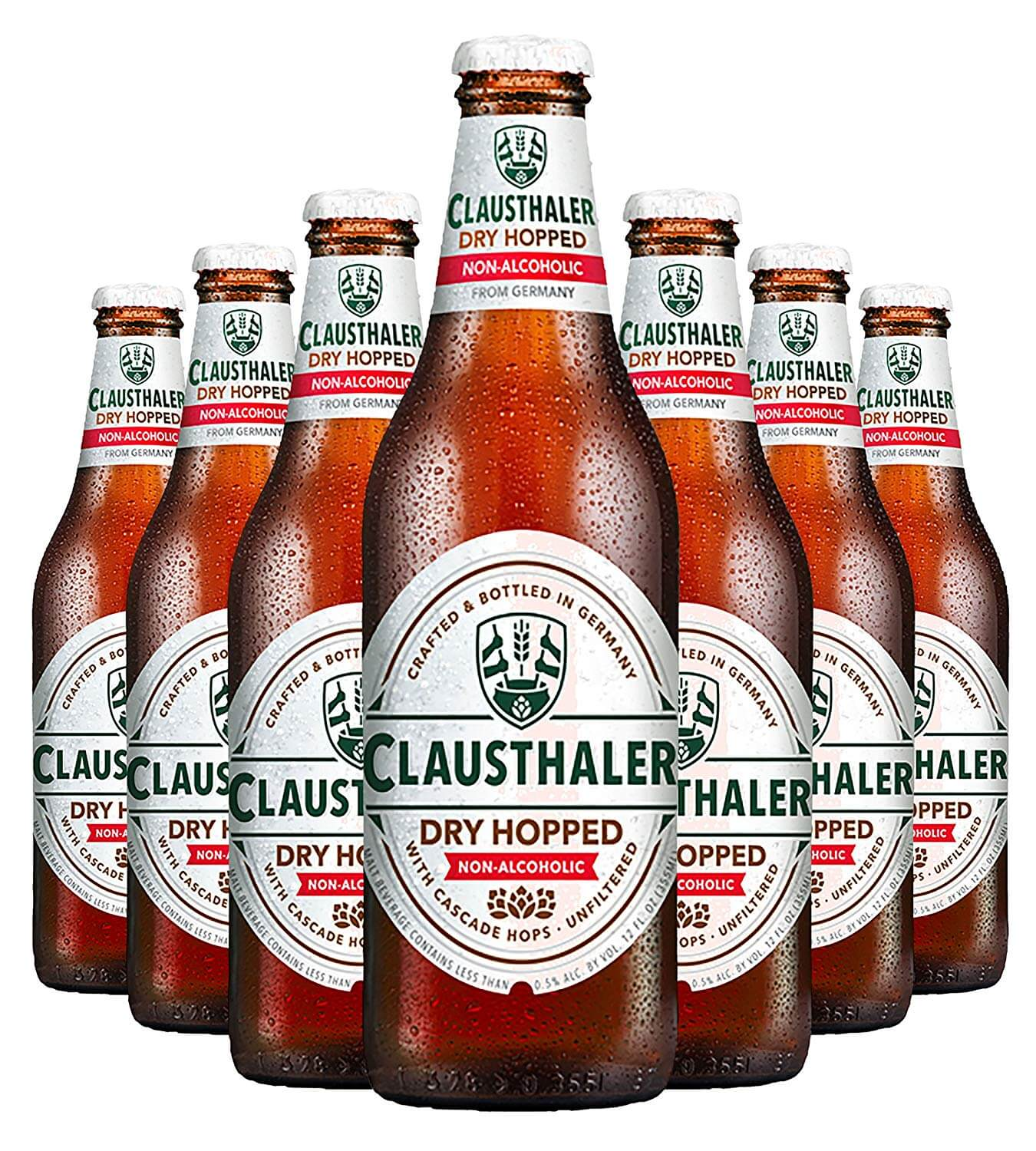 Clausthaler Amber Dry Hopped Non-Alcoholic Beer