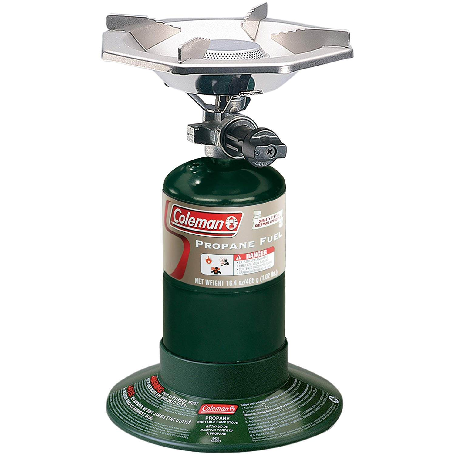 Coleman Bottle Top Propane Camp Stove