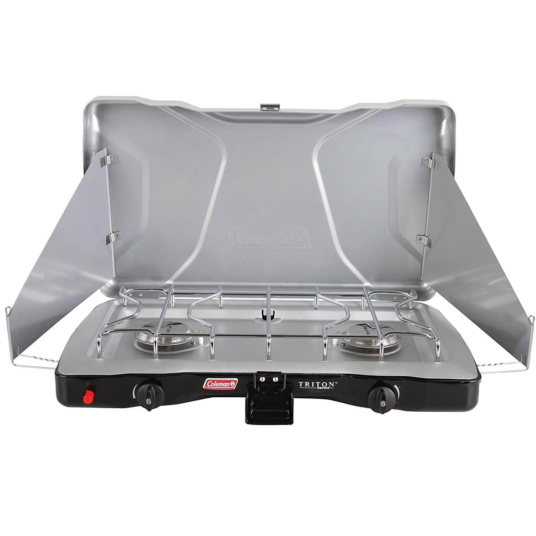 Coleman Triton + Portable Propane Gas Camp Stove