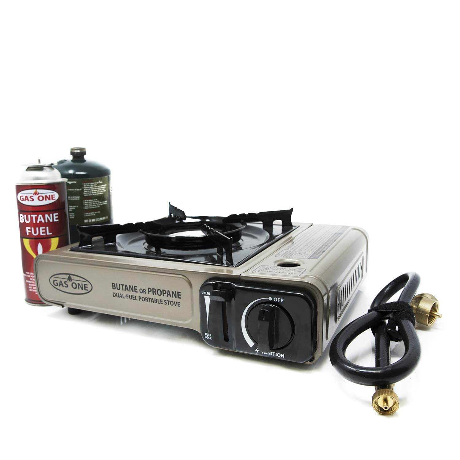 GAS ONE Dual Fuel Portable Camping Stove