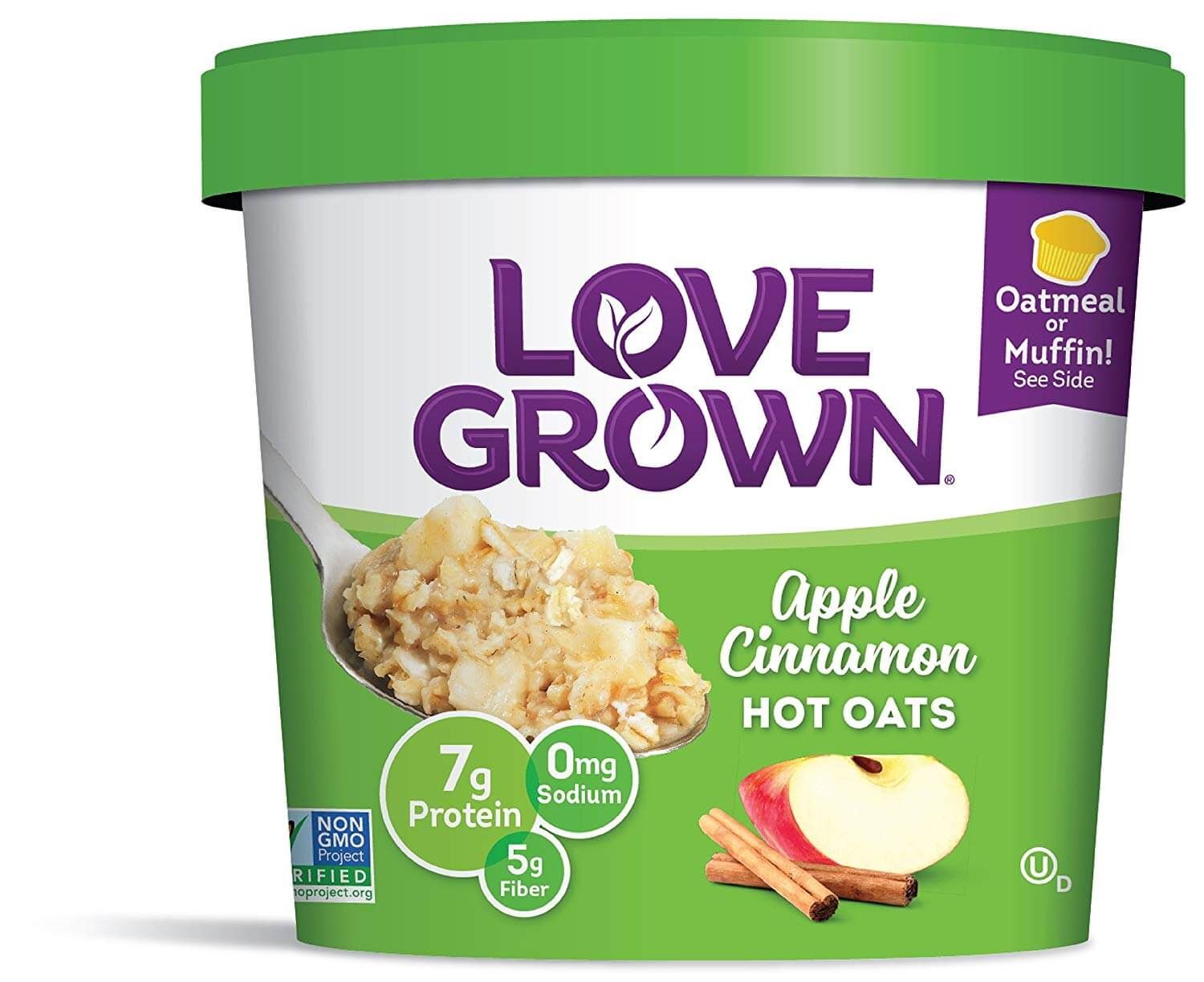Love Grown Apple Cinnamon Oatmeal