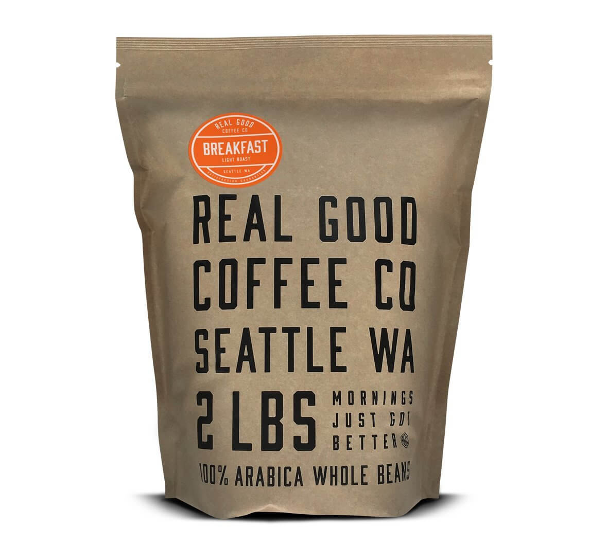 Real Good Coffee Co Breakfast Blend Light