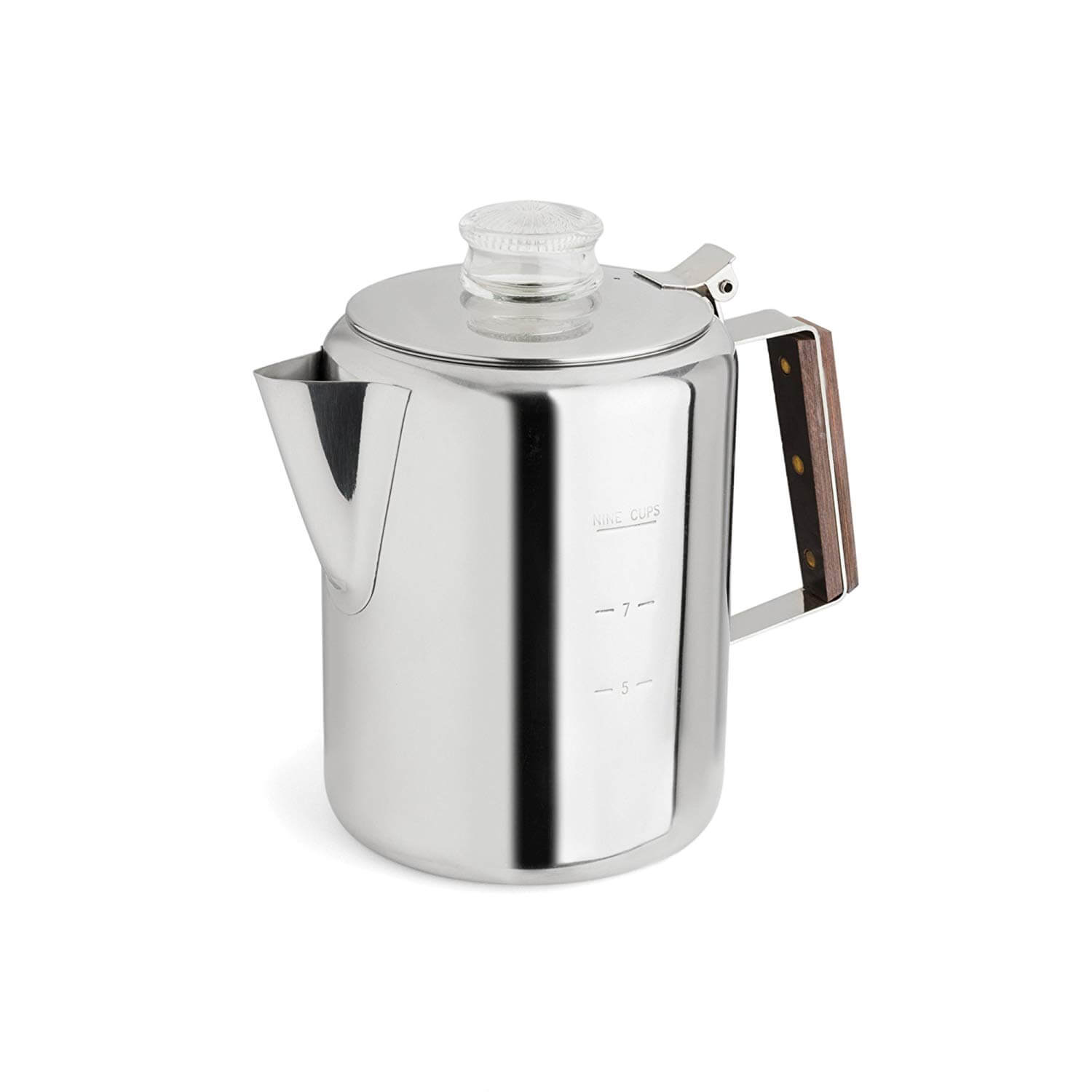 TOPS 55704 Rapid Brew Stainless Steel Stovetop Coffee Percolator