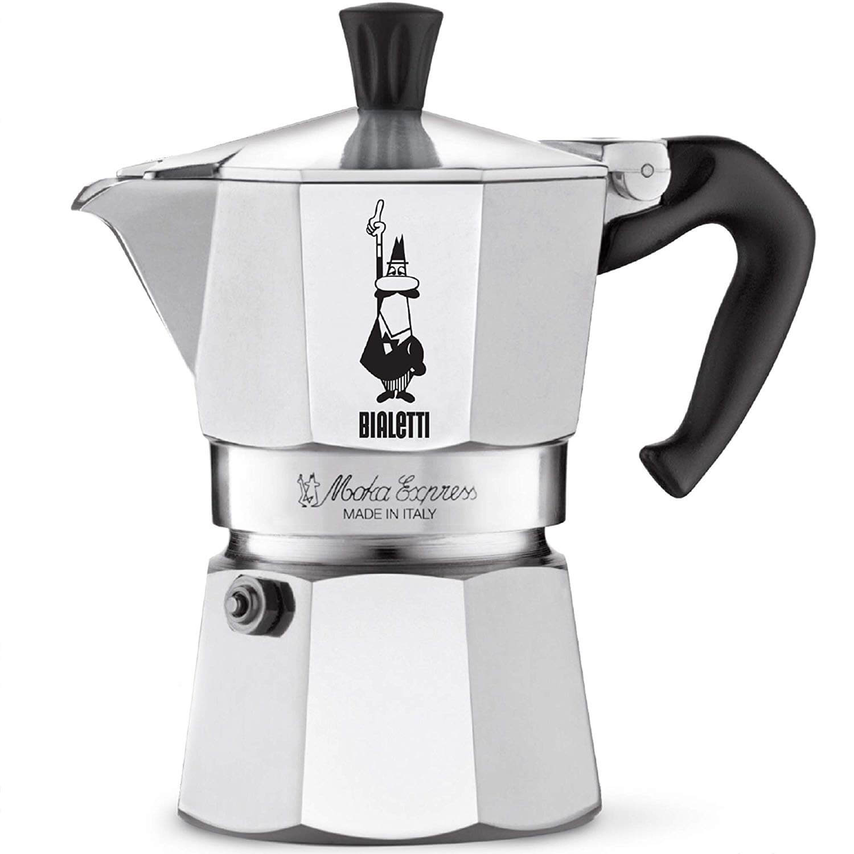 The Original Bialetti Moka Express Stovetop Coffee Maker