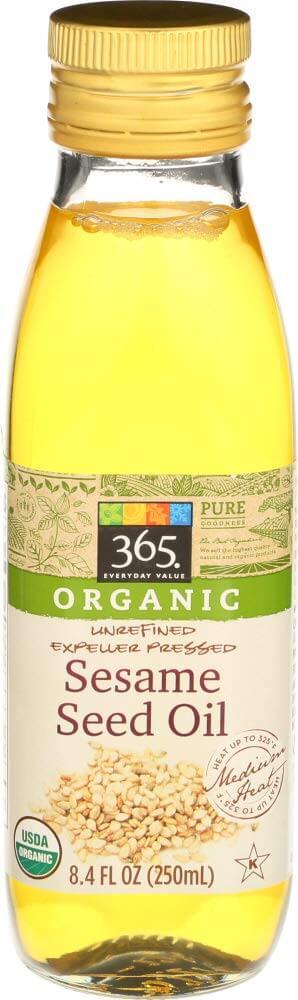 365 Everyday Value Organic Sesame Oil