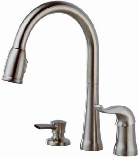 Delta Faucet Kate Single-Handle Kitchen Sink Faucet