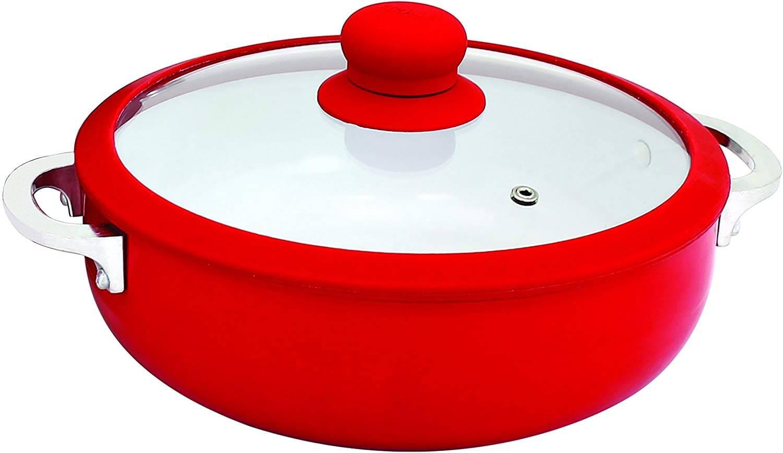 IMUSACHI-00071R Ceramic Dutch Oven