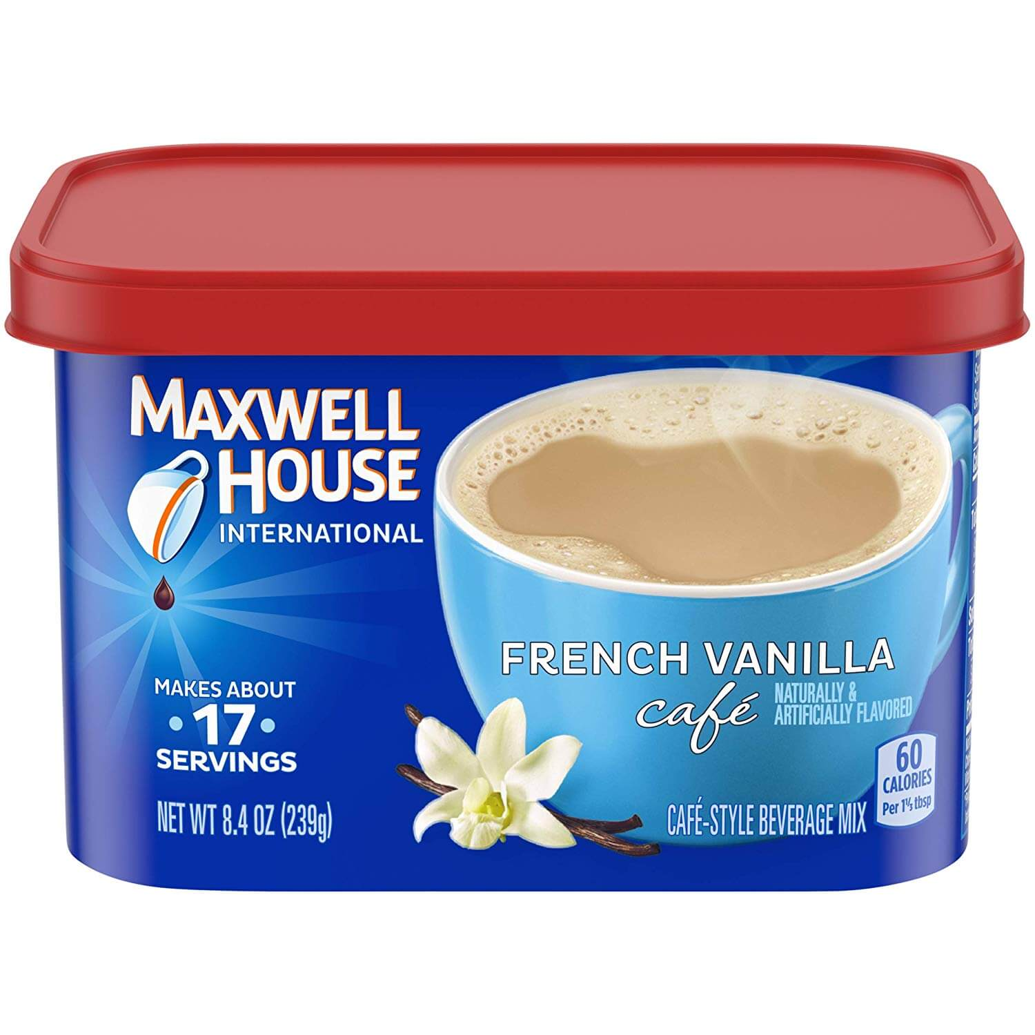 Maxwell House French Vanilla Coffee International Cafe