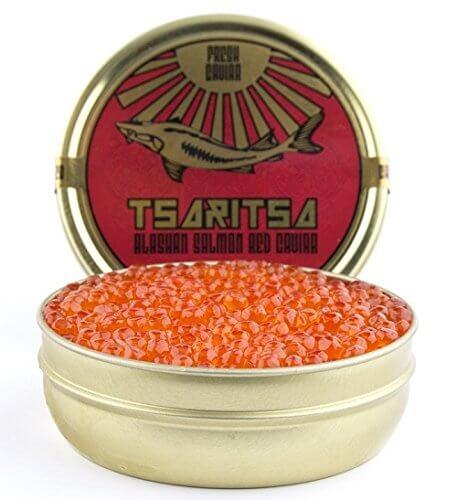 Tsaritsa Alaskan Salmon Red Caviar