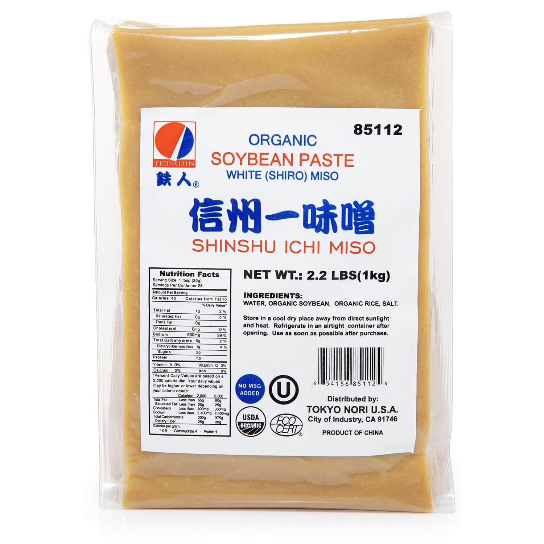 Tetsujin Organic Shiro White Miso Paste