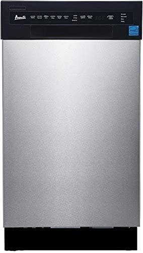 Avanti Stainless Steel Panel Built-In Dishwasher