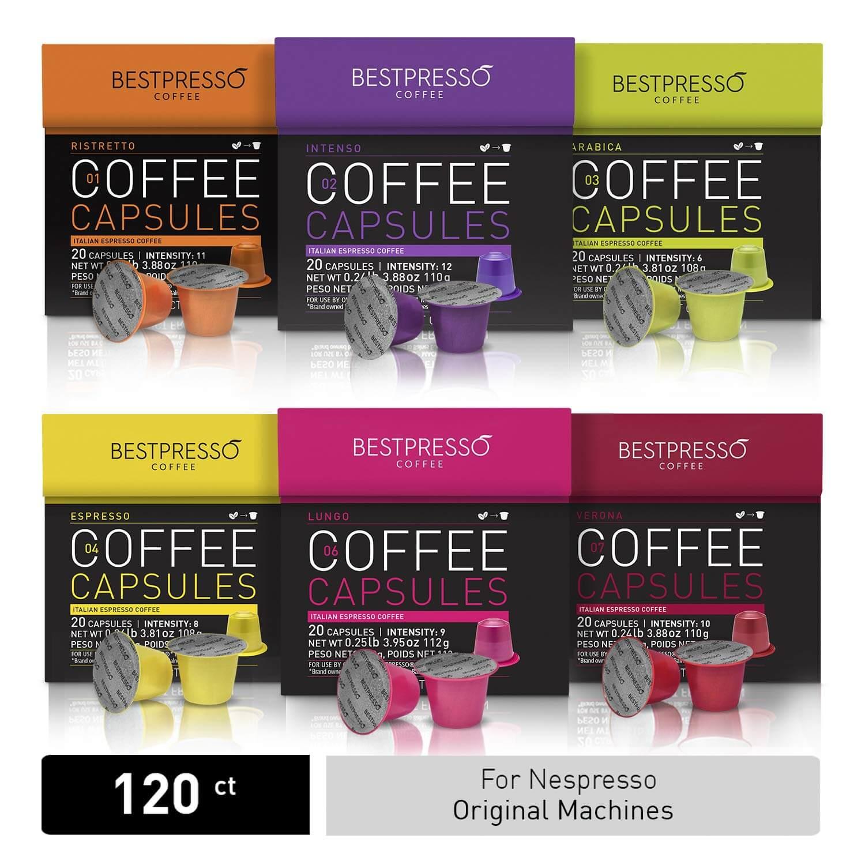 Bestpresso Nespresso Compatible Capsules