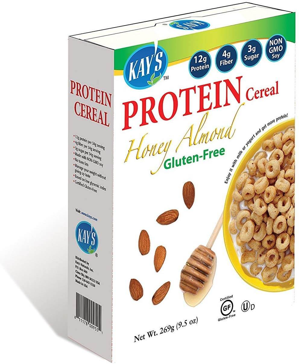 Kay's Naturals Protein Breakfast Cereal Honey Almond