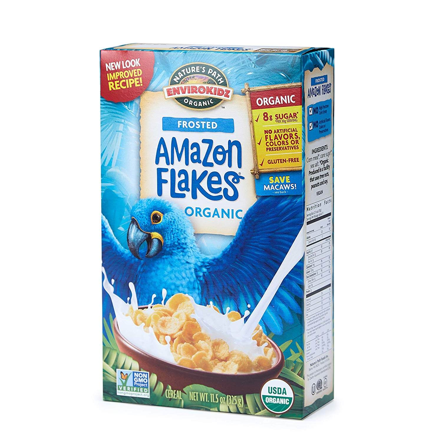 Nature's Path Envirokids Frosted Amazon Flakes Cereal