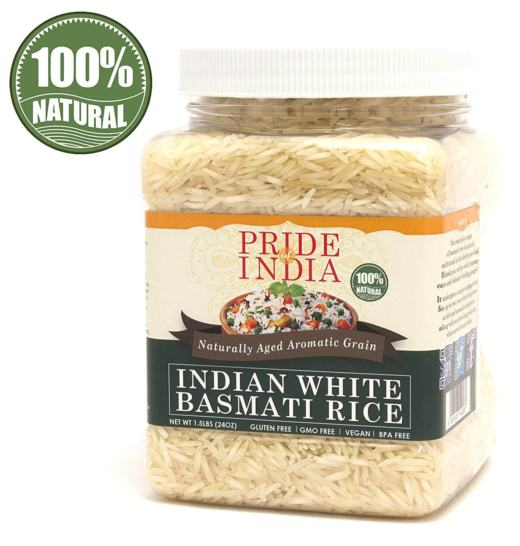 Pride of India Extra Long Indian Basmati Rice