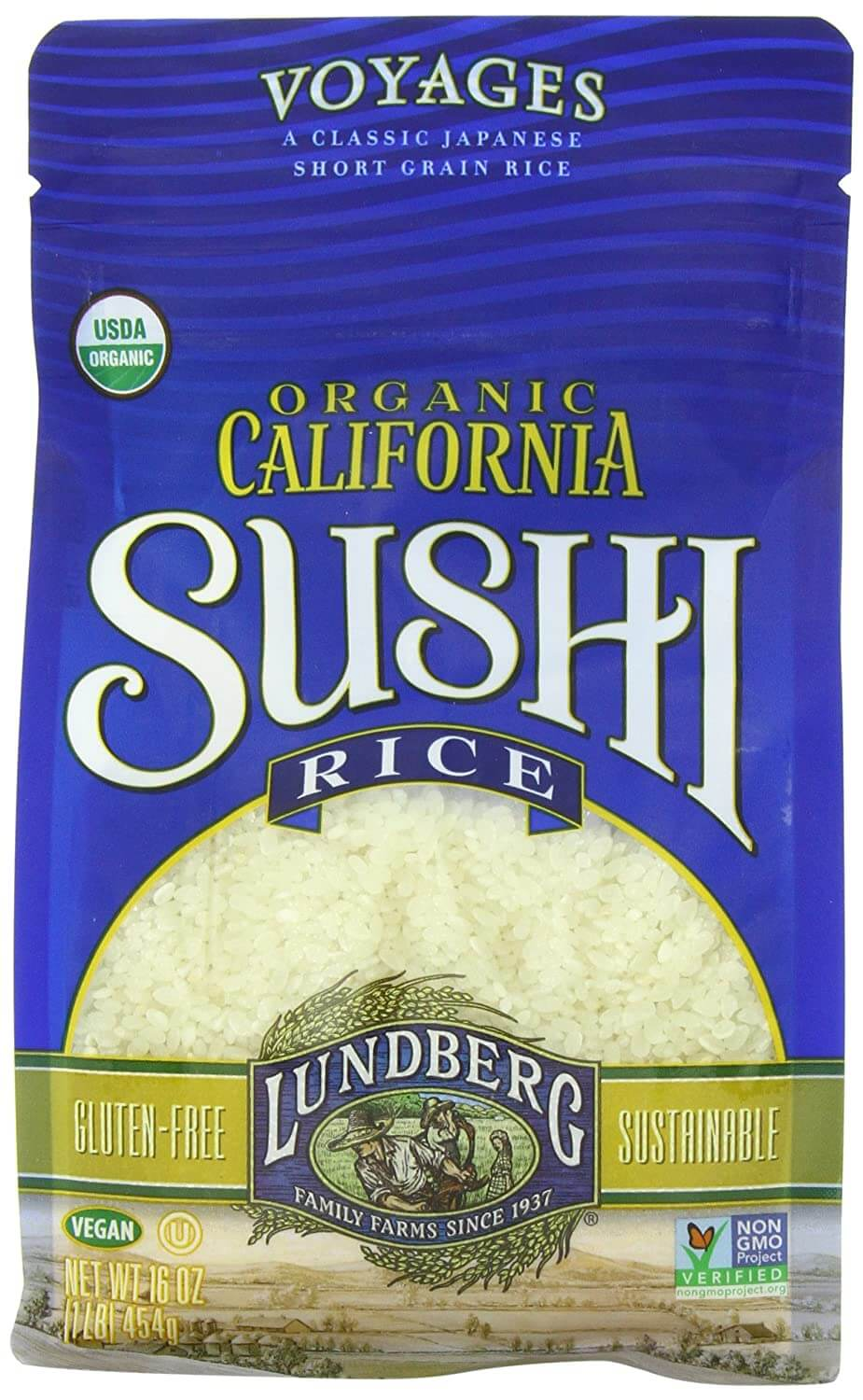 Lundberg Family Farms Organic Sushi Rice