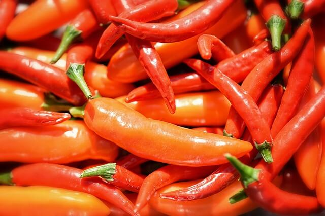 Thai red chile