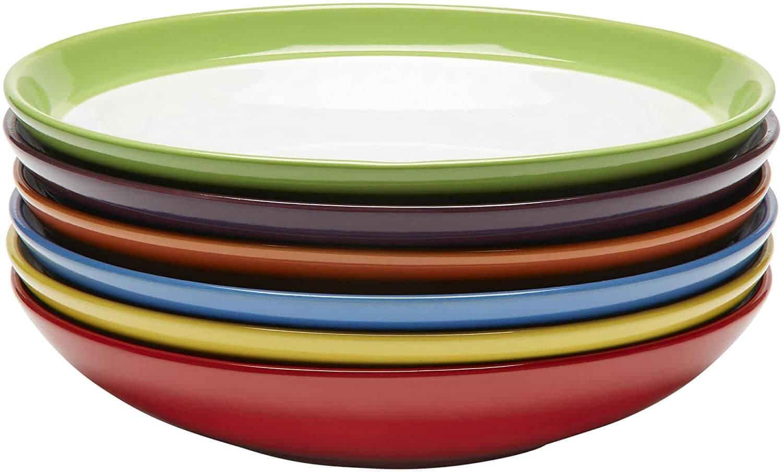 Amethya Premium Ceramic Set of Six Stoneware Bowls