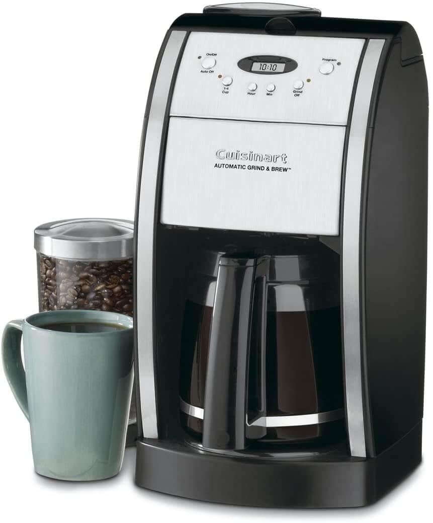Cuisinart DGB-550BKP1 Grind & Brew Automatic Coffee Maker