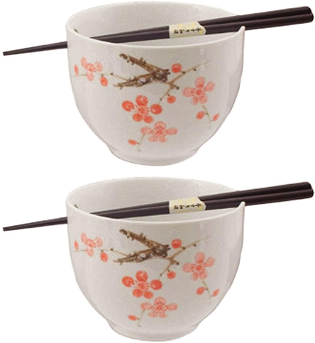 Happy Sales HSBS-CBWP2 Ramen Noodle Bowls